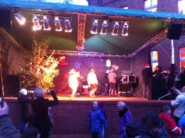 Die Bühne der Arche in Neuenhagen