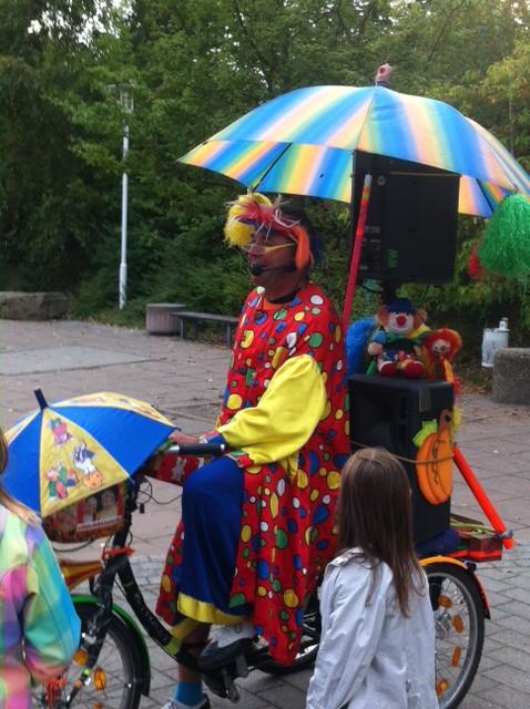 Lampionumzug Dudellumpi beim Oktoberfest Neuenhagen
