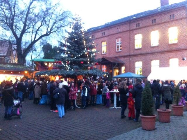 Weihnachtsmarkt an der Arche in Neuenhagen