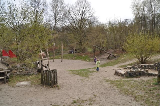 Abenteuer-Spielplatz - im Kleinen Spreewaldpark von Schöneiche