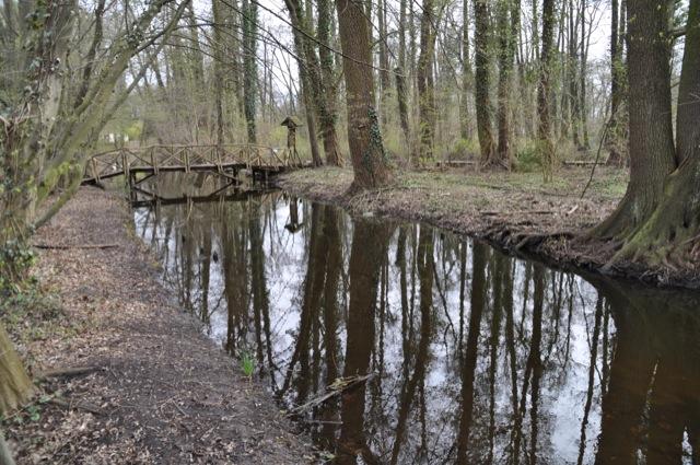 Kanal im Kleinen Spreepark von Schöneiche