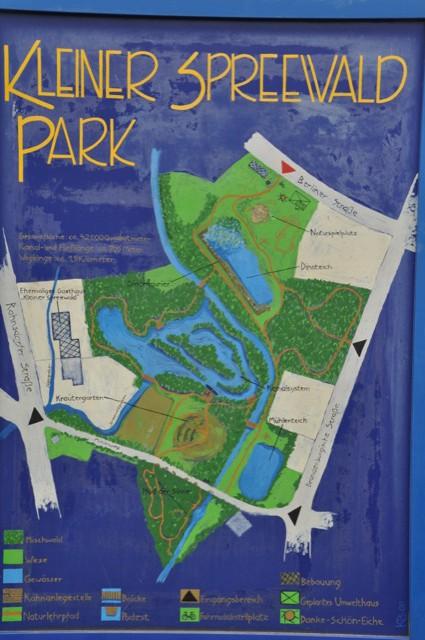 Übersicht und Karte vom Spreewald-Park von Schöneiche
