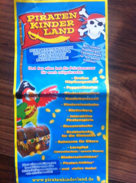 Kinderfest: Piratenland in Woltersdorf