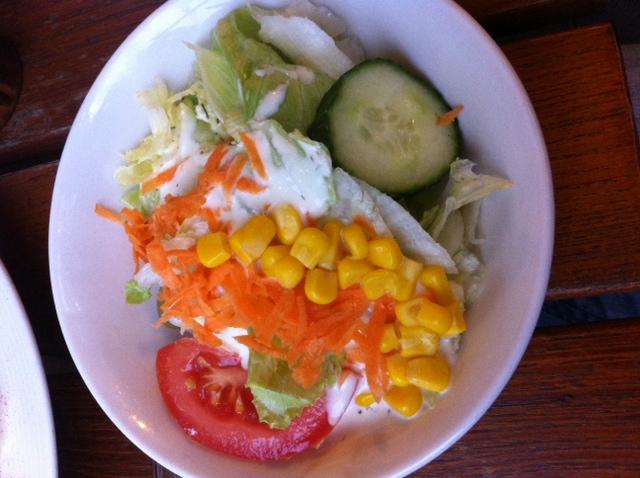 Inkludierter Salat